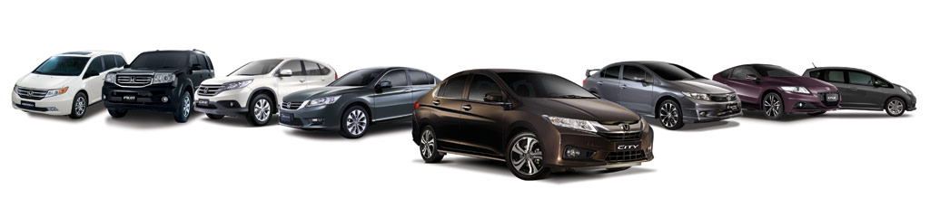 Honda-All-models2014