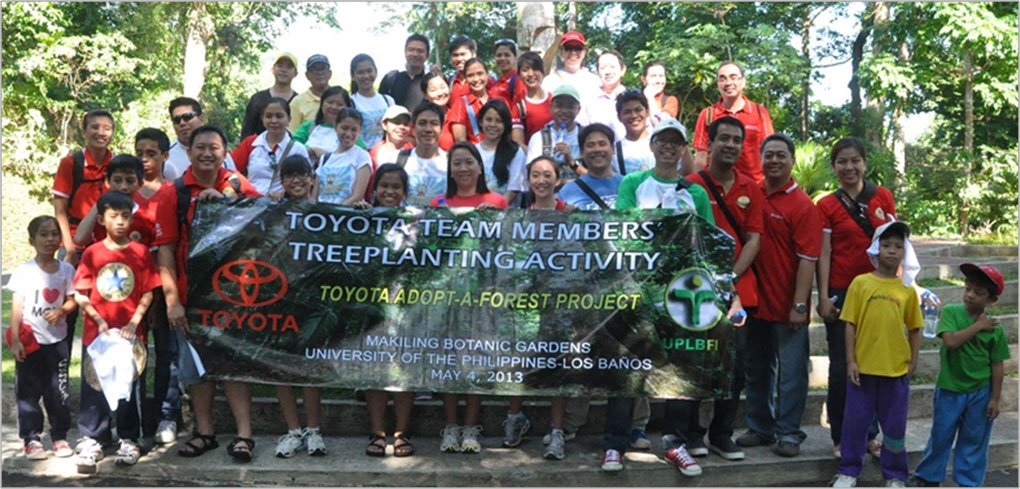 Toyota-Adopt-a-Forest Project